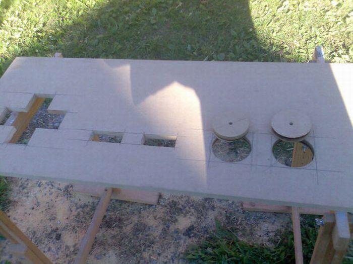 Геймерський кавовий столик (18 фото)