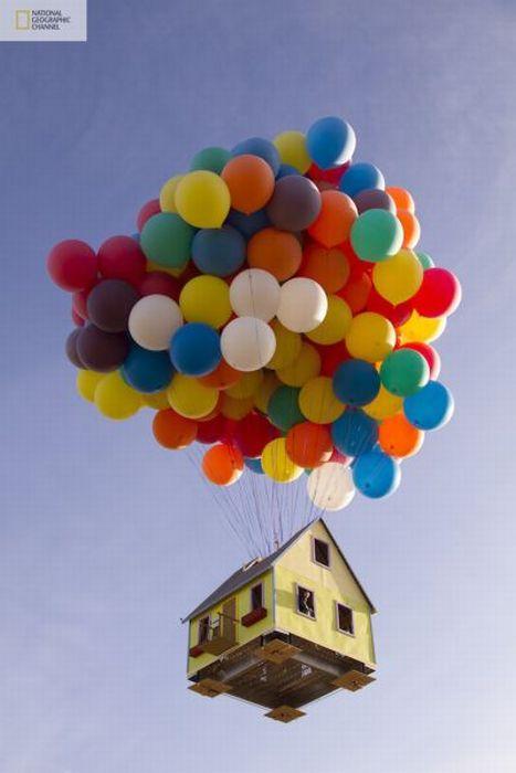 Літаючий будинок (14 фото)