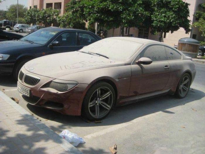 Кинутий BMW M6 (8 фото)