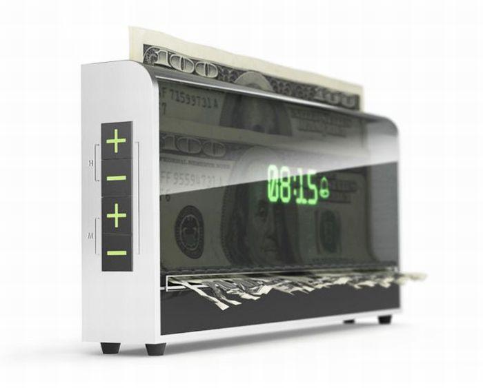 Пора вставати або час – гроші (3 фото)