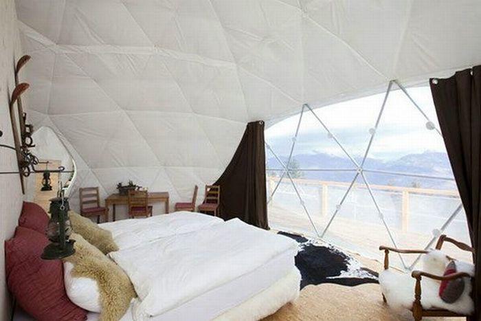 Готель в Альпах (10 фото)