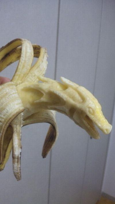 Креативні роботи, зроблені і бананів (9 фото)