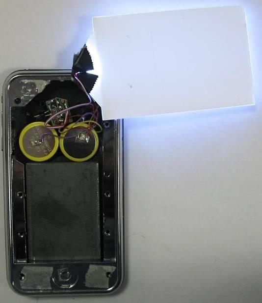 У iPhone села батарейка (3 фото)