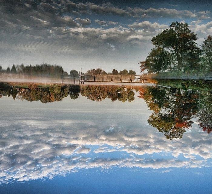 Неймовірні відображення у воді (60 фото)