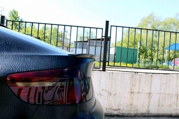 Шкіряний BMW X6 в Москві (7 фото)