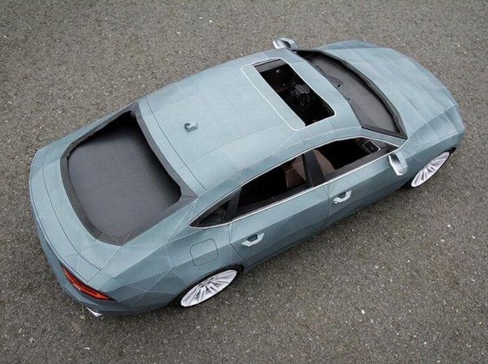 Audi A7 з паперу (7 фото)