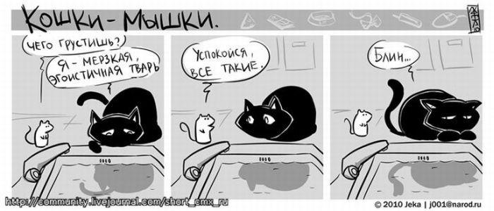 Кішки-мишки (44 картинки)