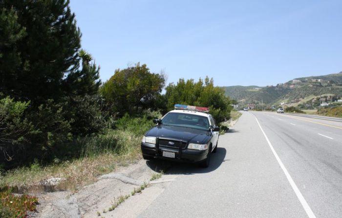 Поліцейський на посаді (8 фото)