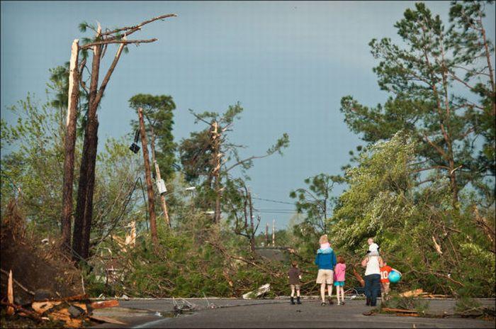 Північна Кароліна після урагану (39 фото)
