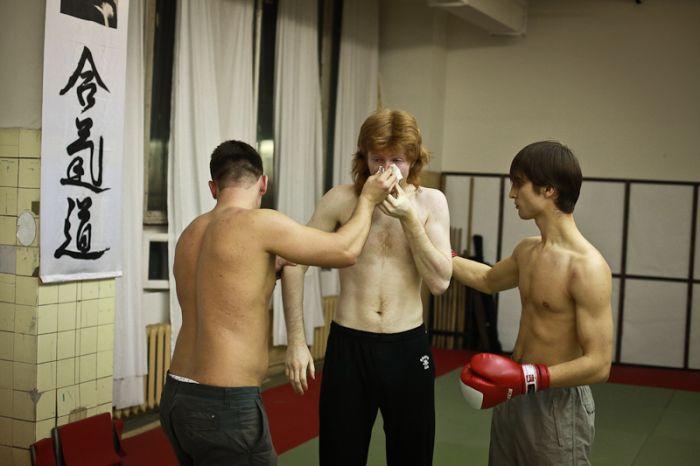 Бійцівський клуб тепер і в Москві (11 фото)