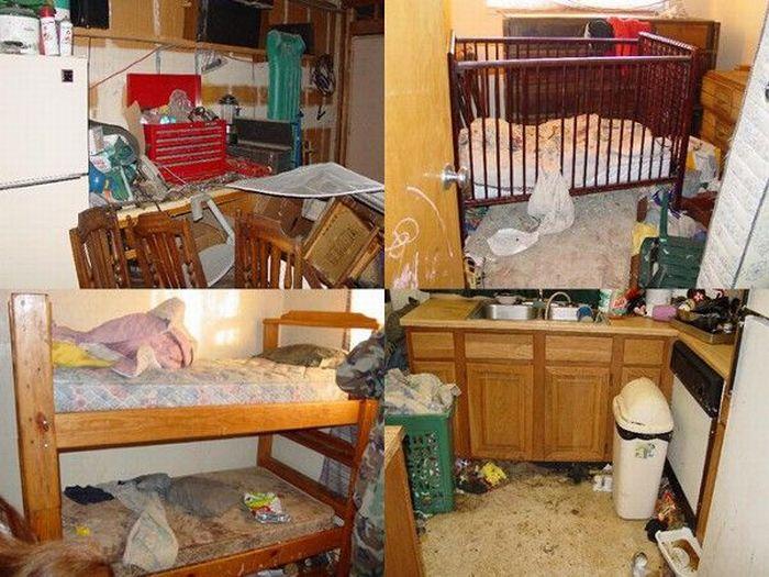 Брудні квартири (22 фото)