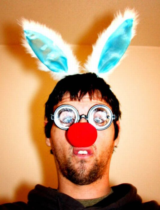 В костюмі кролика (34 фото)