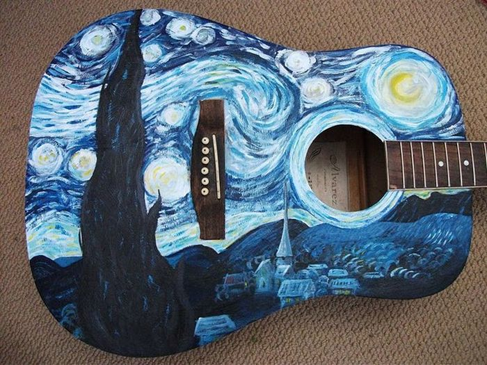 Стара гітара (6 фото)