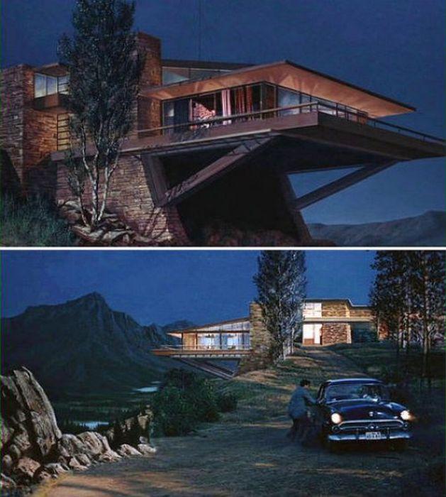 Будинки, в яких знімалися фільми (13 фото)