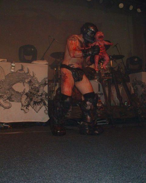 Виступ рок-групи GWAR (6 pics)