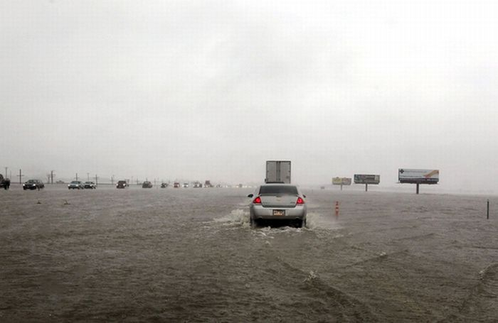 Ред Рівер затопила Північну Дакоту (50 фото)