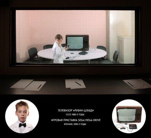 Сучасні діти і старі технології (12 фото + текст)