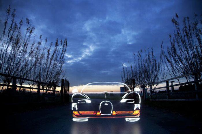 Намальовані автомобілі (19 фото)