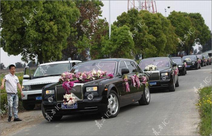 Весільний кортеж (9 фото)