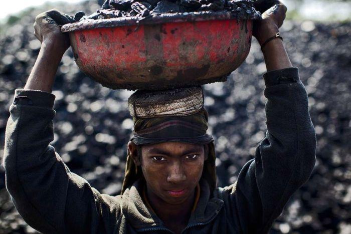 Діти на вугільних шахтах (28 фото)