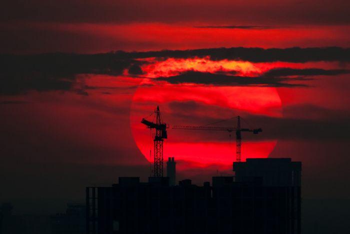 Москва з висоти 200 метрів (46 фото)