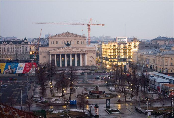 Красивий світанок над Москвою (55 фото)