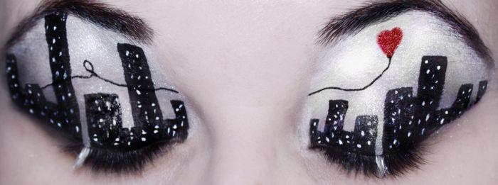 Дивовижний макіяж (13 фото)