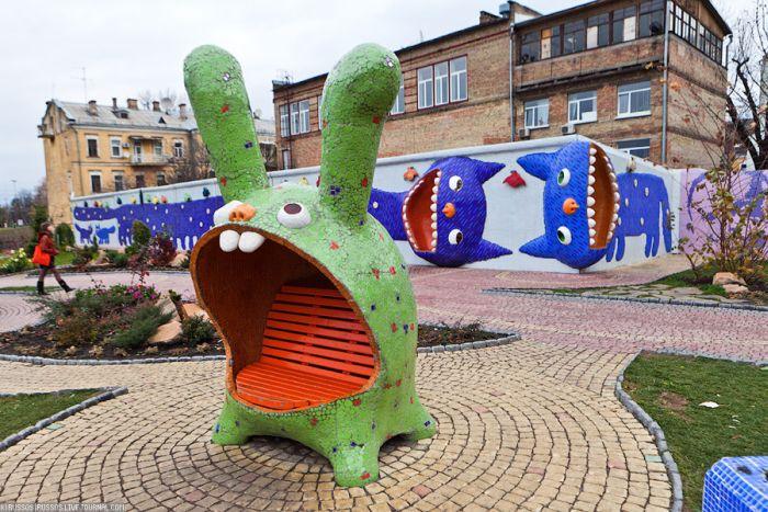 Дитячий парк у Києві (26 фото)