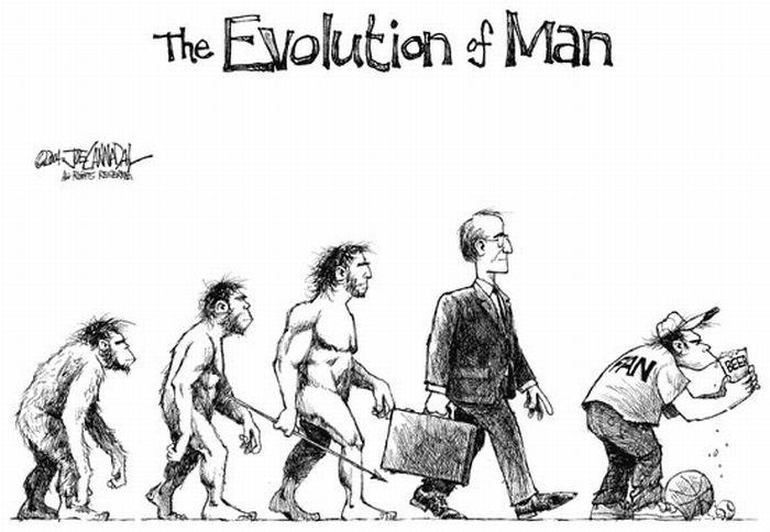 Еволюція людини (16 фото)