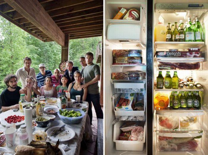 Вміст холодильника і ви (10 фото)