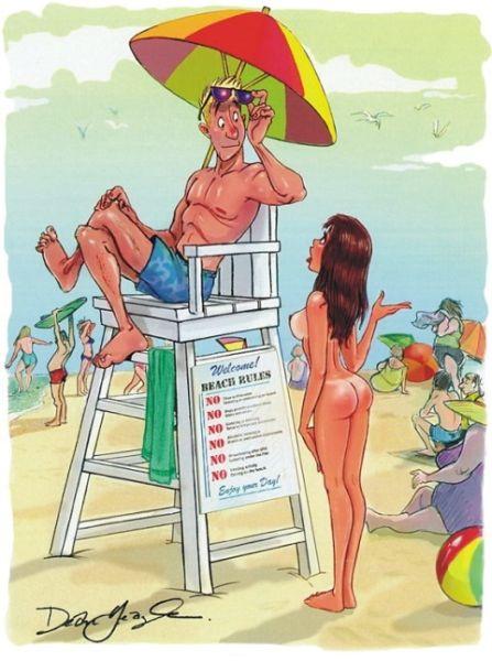Забавні малюнки з Playboy (27 фото)
