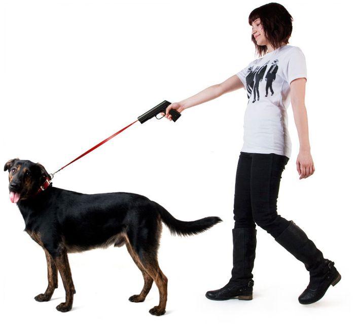 Оригінальний «поводокус» для собак (3 фото)