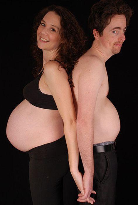 Самі дивні фотографії вагітних (43 фото)