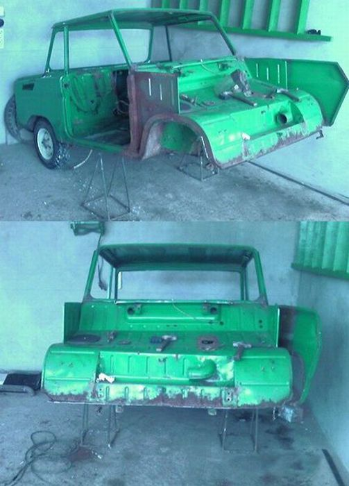 Реставрація автомобіля (13 фото)