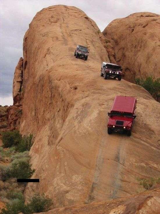 Крута дорога (3 фото + відео)