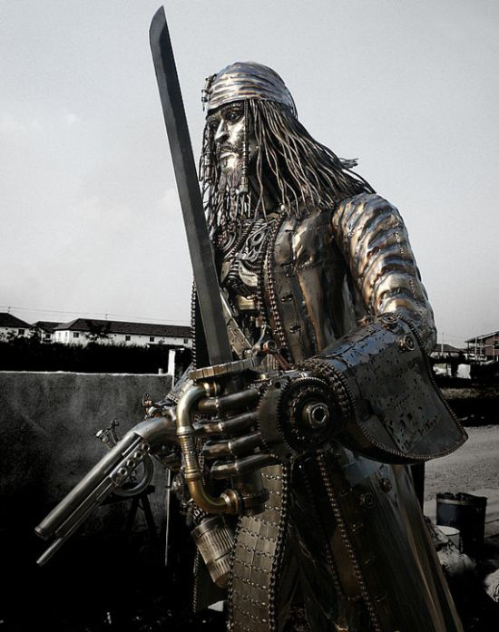 Скульптура Джека Горобця (5 фото)