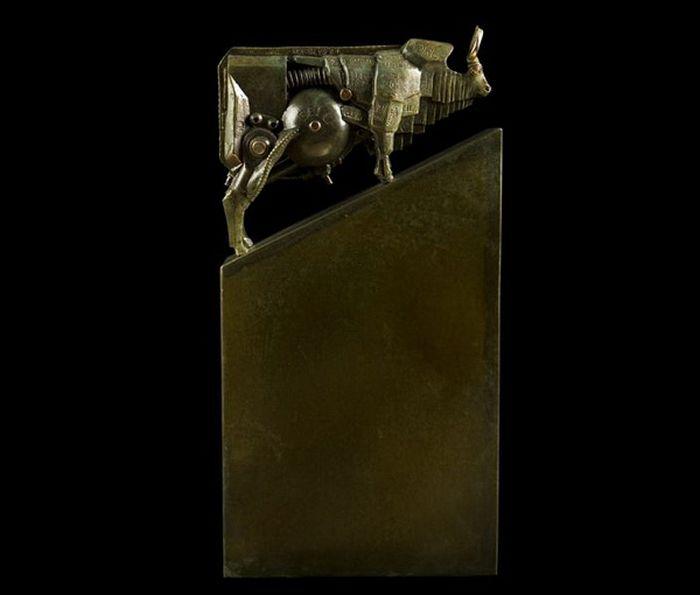 Стімпанк скульптури (28 фото)