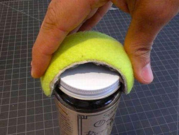Вироби з тенісних мячів (21 фото)