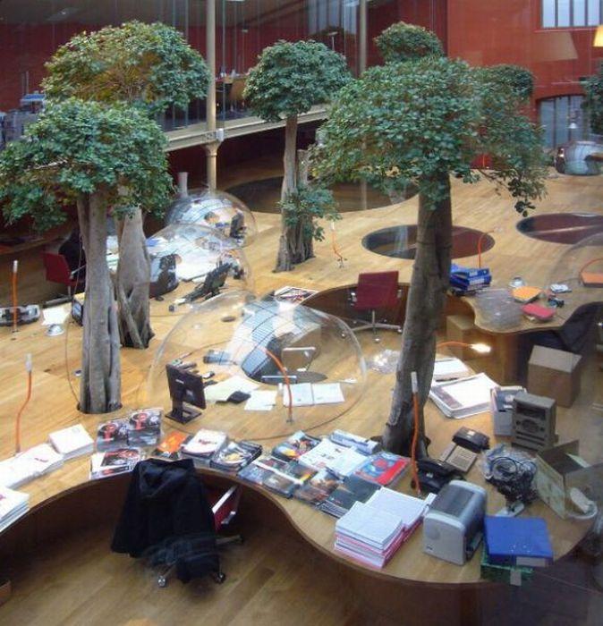 Дивовижний офіс (17 фото)