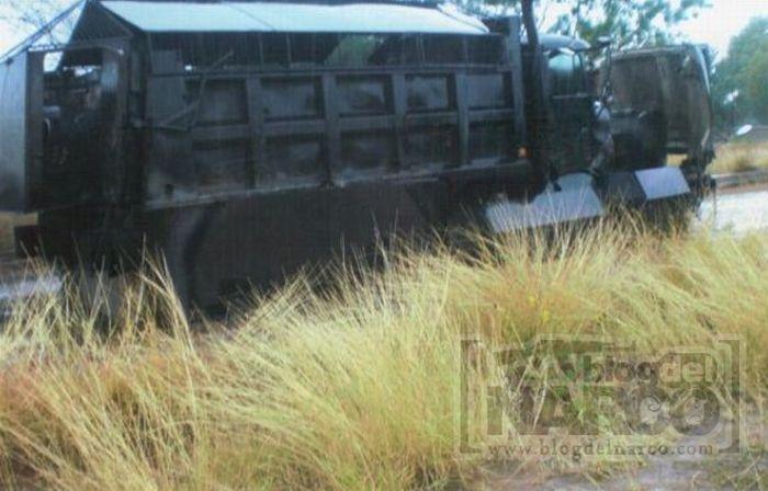 Транспорт мексиканських наркоторговців (8 фото)