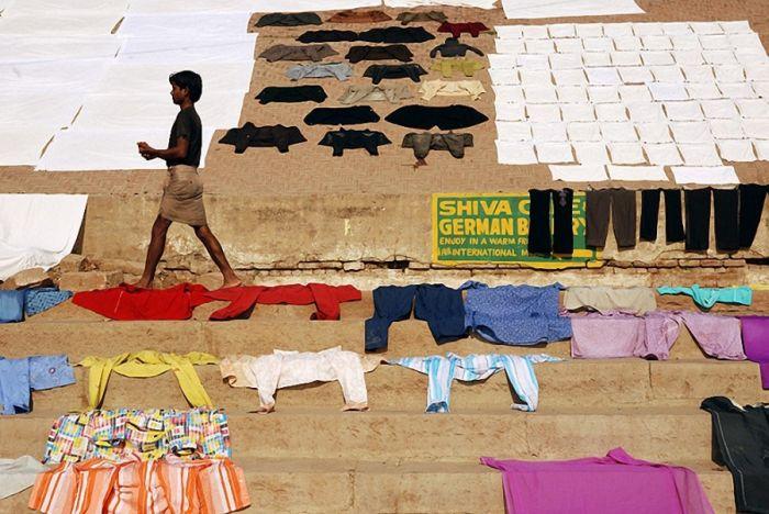Сушка білизни в різних країнах (20 фото)