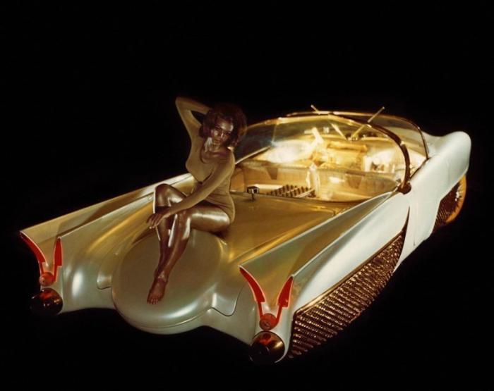Golden Sahara II: беспилотный красавчик из 50-х авто,мото,техника, Авто и мото
