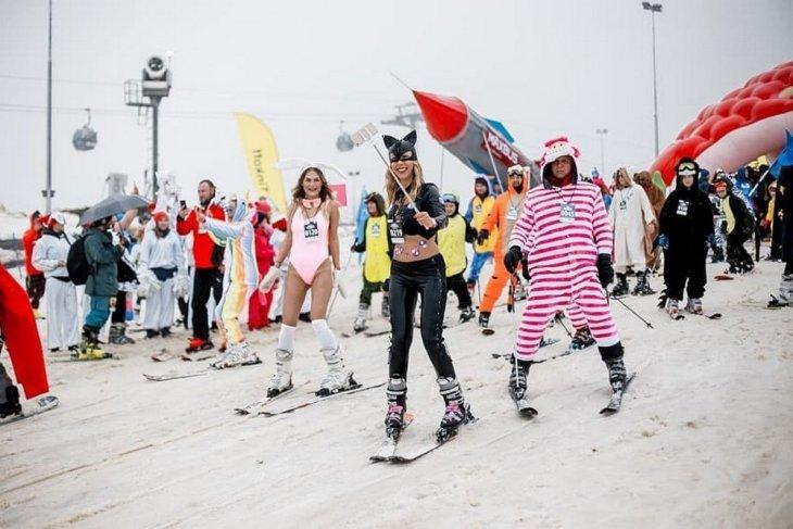 Девушки с фестиваля BoogelWoogel в Сочи Развлечения