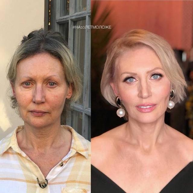 Современный макияж творит чудеса: