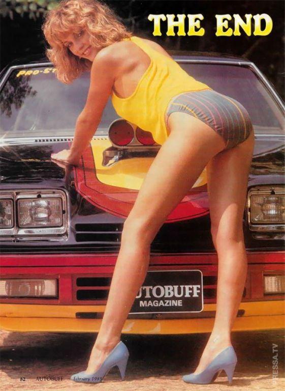 Потрясающие фотографии лучших моделей журнала Autobuff 1980-х годов Интересное
