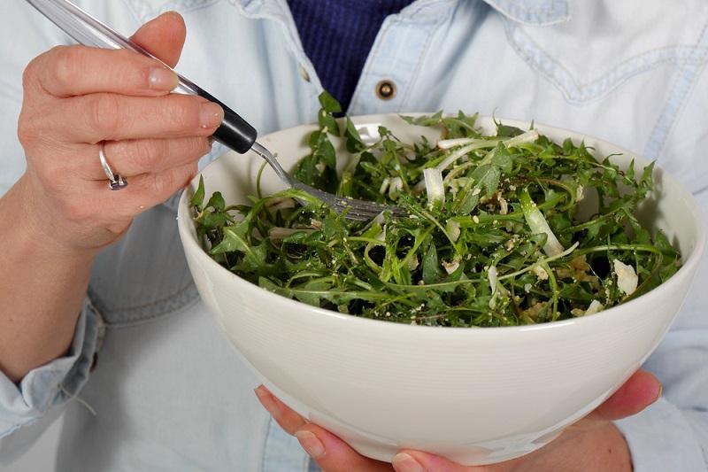Руководство по приготовлению салатов из листьев одуванчика Кулинария