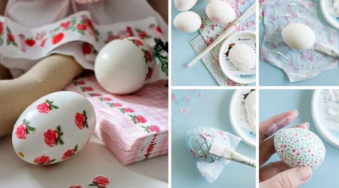 Как украсить яйца на Пасху необычным способом вдохновение