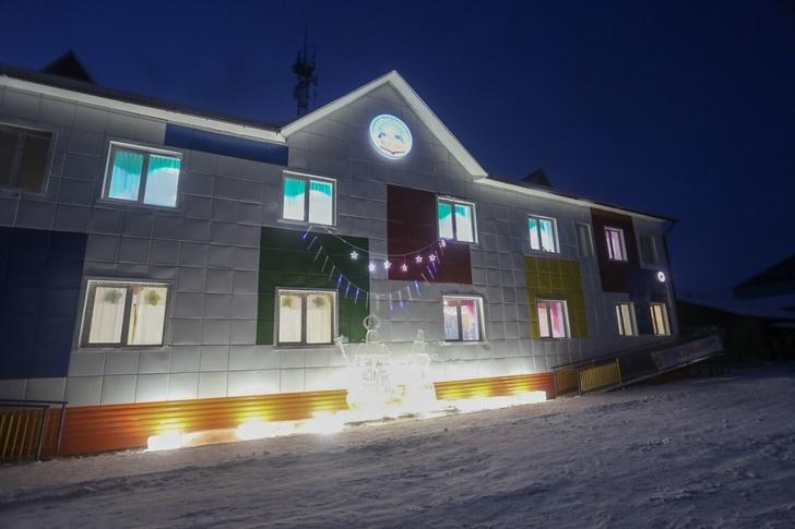 В Якутии открыли школу и детский сад события, Новости