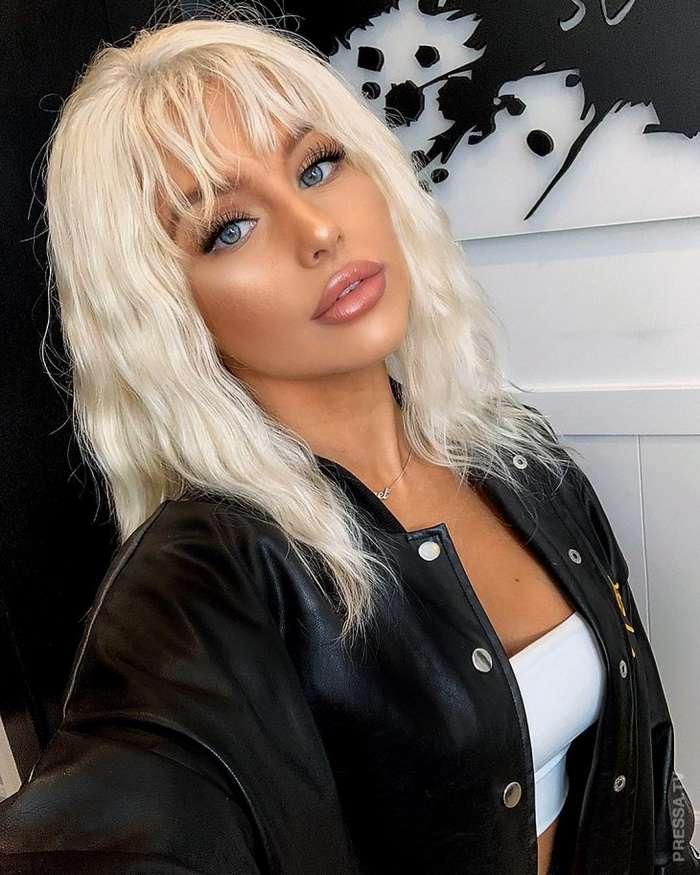 Шокирующее превращение из эмо в очаровательную блондинку Интересное
