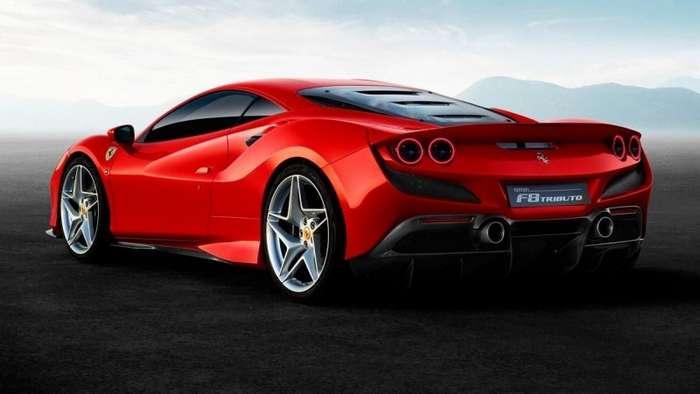 Ferrari показала, как устроена аэродинамика на новом суперкаре F8 Tributo   авто